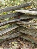 загородка деревянная стоковое изображение