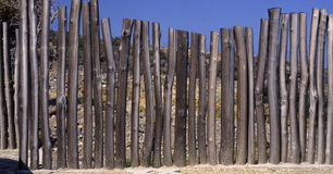 загородка деревянная Стоковые Фотографии RF