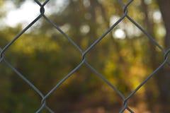 Загородка дома стоковая фотография rf
