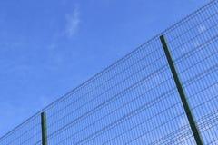 Загородка и небо Стоковая Фотография RF