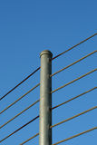 загородка кабеля Стоковые Фото