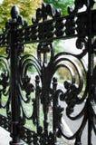 Загородка металла - конец-вверх стоковая фотография