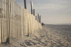 Загородка пляжа Стоковые Фотографии RF
