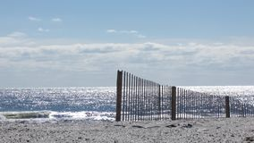 Загородка пляжа акции видеоматериалы
