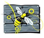 загородка пчелы Иллюстрация штока