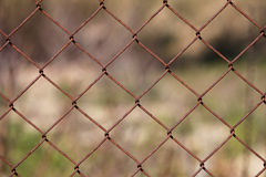 загородка ржавая Стоковые Изображения