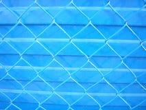 загородка сини предпосылки Стоковое Фото
