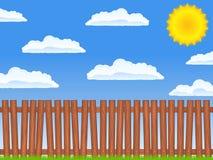 загородка старая бесплатная иллюстрация
