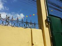 Загородка стены стоковые фотографии rf
