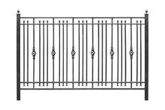 Загородка с чугунными элементами стоковые изображения