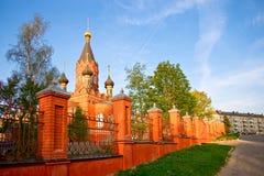 загородка церков Стоковое Изображение