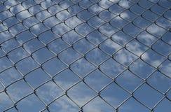 загородка chainlin Стоковое Фото