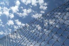 загородка chainlink Стоковое фото RF