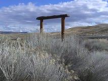 Загородки от прошлого стоковое изображение