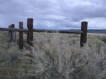 Загородки от прошлого стоковое фото