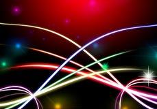 Загородка абстрактной предпосылки красочная с пробелом для текста Стоковые Фотографии RF