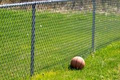 Загородка 2 баскетбола Стоковое Фото