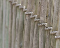 Загородка веревочки Стоковое фото RF