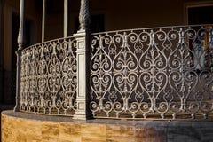 загородка выковала Испанию Стоковая Фотография RF