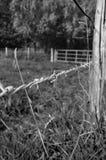Загородка деревни Стоковое Изображение RF