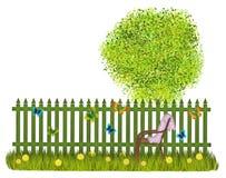 Загородка лета Стоковые Изображения RF