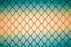 Загородка закрутки металла стоковое изображение rf