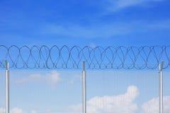 Загородка звена цепи Стоковые Фотографии RF