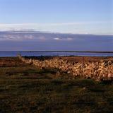 Загородка известняка и ocean.JH Стоковые Фото