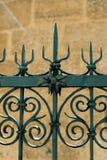 Загородка и каменная стена Стоковая Фотография