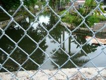 Загородка и канал Стоковые Изображения RF