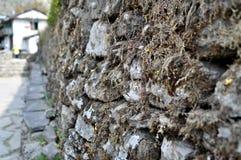 Загородка каменной стены Стоковое Фото