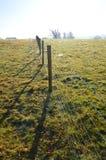 Загородка колючей проволоки Стоковое фото RF