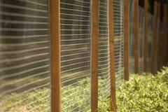 Загородка металла Стоковое Изображение
