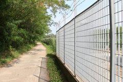 Загородка металла Стоковые Фотографии RF
