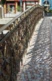 Выкованная загородка Стоковая Фотография RF