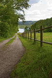 Загородка на озере Стоковые Фото