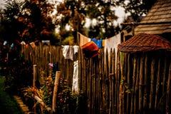 Загородка на сельской местности Стоковое Фото