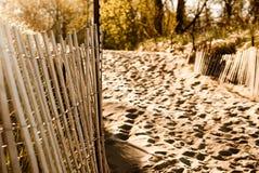 загородка пляжа Стоковые Изображения RF