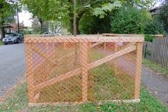 Загородка предохранения от дерева Стоковые Изображения RF
