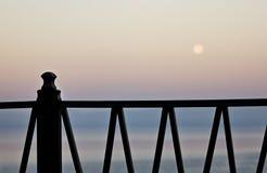загородка рассвета Стоковая Фотография RF
