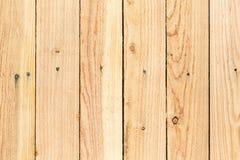 Загородка древесины сосны Стоковые Фотографии RF