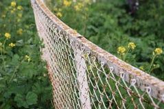 загородка ржавая стоковое изображение