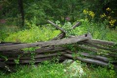 Загородка сельской местности Стоковое фото RF