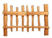 Загородка сделанная из древесины бесплатная иллюстрация