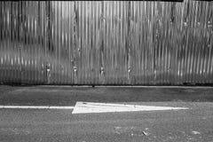 Загородка цинка Стоковое Изображение