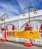 Загородка цирка Knie в Цюрихе, Швейцарии Стоковое Фото
