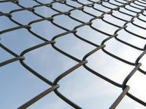 Загородка ячеистой сети Стоковые Фотографии RF