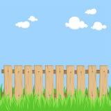 загородка деревянная Стоковое Изображение RF