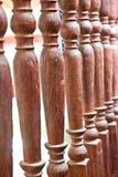 Загородки балюстрады стоковая фотография rf