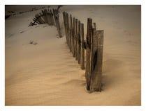 Загородки пляжа Стоковые Фото
